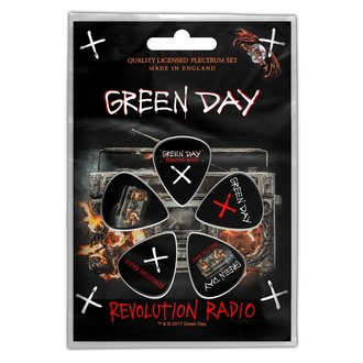 Picks Green Day - Revolution - ROCK OFF, ROCK OFF, Green Day