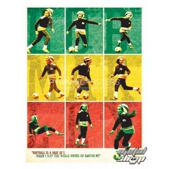 poster Bob Marley (Football) - PP30504, PYRAMID POSTERS, Bob Marley