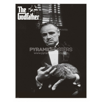 poster - The Godfather (Cat B & W) - PP30526, PYRAMID POSTERS