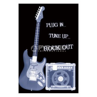 poster Plug In... Tune Up... Rock Out - PP31159 - PYRAMID POSTERS