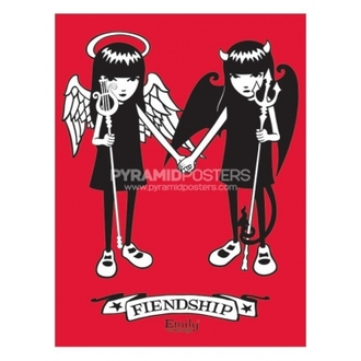 Poster - Emily The Strange (Fiendship)- PP31164 - Pyramid Posters