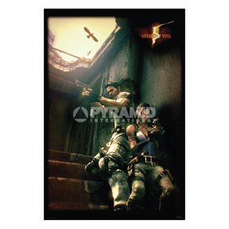 poster Resident Evil 5 (Against A Wall) - PP31862, PYRAMID POSTERS
