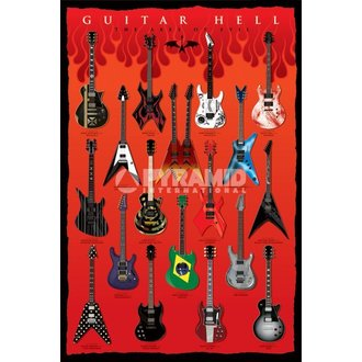 poster Guitar Hell (The Axes Of Evil) - PYRAMID POSTERS - PP32523