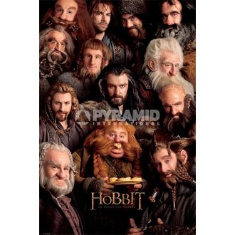 plakát The Hobbit - Dwarves - Pyramid Posters, PYRAMID POSTERS