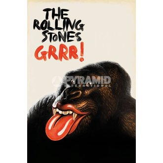 poster Rolling Stons - GRR!' - Pyramid Posters, PYRAMID POSTERS, Rolling Stones