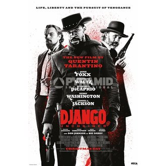poster Django Unchained - Lifa Liberty - Pyramid Posters, PYRAMID POSTERS