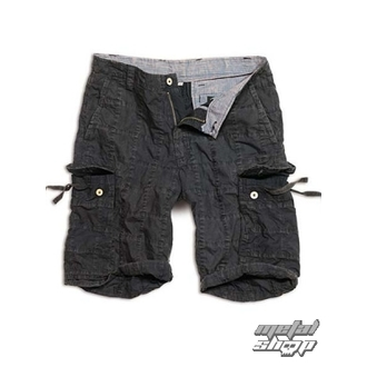 shorts men SURPLUS - Checkboard - BLACK - 05-5650-03