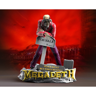 Statue/ Figurine (Decoration) Megadeth - KNUCKLEBONZ - Peace Sells - VIC Rattlehead 2, KNUCKLEBONZ, Megadeth