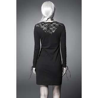 Women's dress PUNK RAVE - Black Nightingale, PUNK RAVE