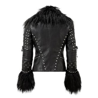 spring/fall jacket women's - RAGNAROK FUR BIKER - KILLSTAR