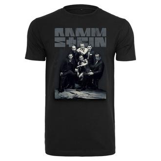 Metal T-Shirt men's Rammstein - Band Photo - RAMMSTEIN - RS016