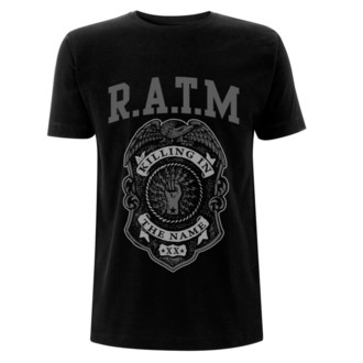 t-shirt metal men's Rage against the machine - Grey Police - NNM, NNM, Rage against the machine