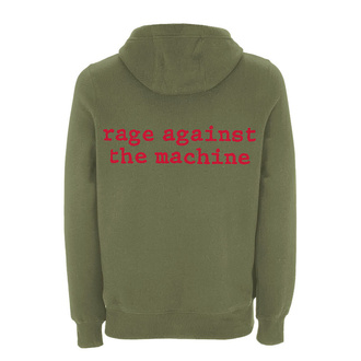 hoodie men's Rage against the machine - Red Star Olive - NNM, NNM, Rage against the machine