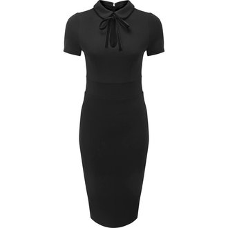 Women's dress KILLSTAR - Rebekka Read - BLACK - KSRA000394