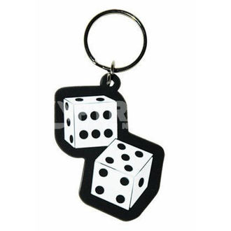 key ring (pendant) Dice - PYRAMID POSTERS, PYRAMID POSTERS