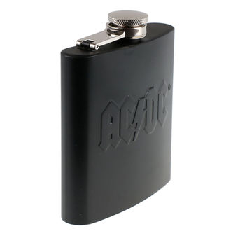 Hip Flask AC / DC - Hip Flask Embossed, NNM, AC-DC
