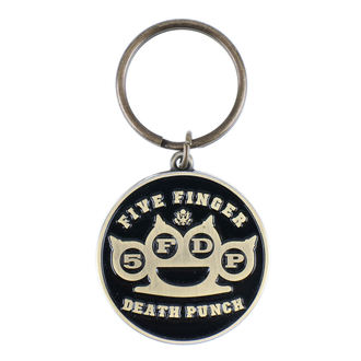 Key Ring (pendant) Five Finger Death Punch, ROCK OFF, Five Finger Death Punch