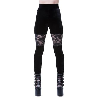 Women's leggings KILLSTAR - ROSE MERRY - BLACK, KILLSTAR