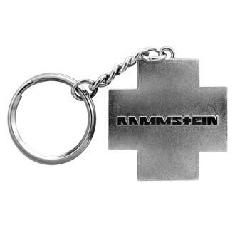 Key Ring  RAMMSTEIN - Logo Schlüsselanhänger - grey, RAMMSTEIN, Rammstein