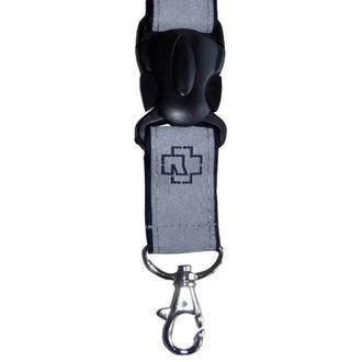 Key Ring RAMMSTEIN - Klassik Schlüsselbund - grey, RAMMSTEIN, Rammstein