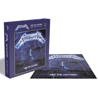 Jigsaw puzzle METALLICA - RIDE THE LIGHTNING - PLASTIC HEAD - RSAW015PZ