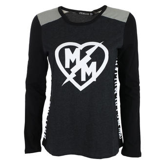 T-shirt Women's Long Sleeves METAL MULISHA - SMOKE, METAL MULISHA