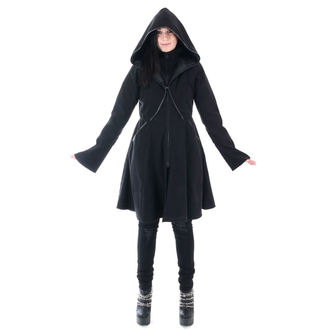 Women's Coat POIZEN INDUSTRIES - TWILIGHT - BLACK, POIZEN INDUSTRIES