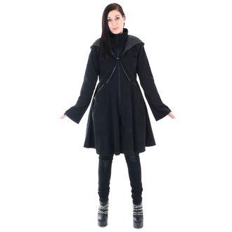 Women's Coat POIZEN INDUSTRIES - TWILIGHT - BLACK, POIZEN INDUSTRIES
