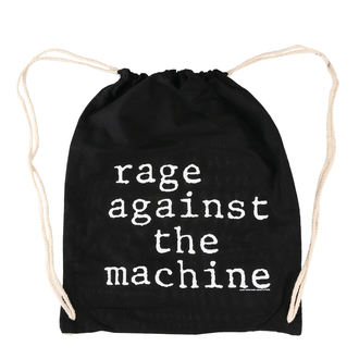 Bag Rage Against the Machine - Stack Logo - Black Drawstring, Rage against the machine