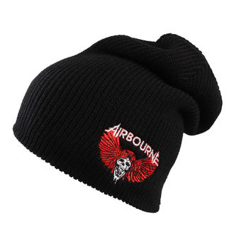 Beanie Airbourne - GnR Skull - Black, Airbourne