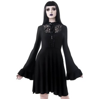 Women's dress KILLSTAR - Sabrina Ruffle - BLACK - KSRA000509