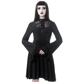 Women's dress KILLSTAR - Sabrina Ruffle - BLACK, KILLSTAR