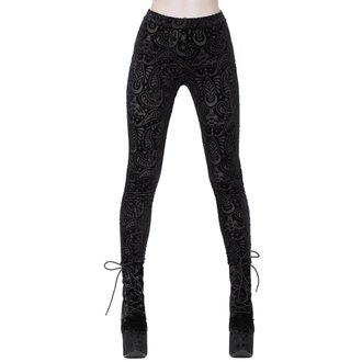 Women's pants (leggings) KILLSTAR - Saiph - BLACK, KILLSTAR