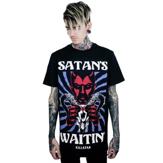 Men's t-shirt KILLSTAR - Satan - BLACK - KSRA000557