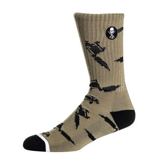 High socks SULLEN - MACHINED - OLIVE / GRAY, SULLEN