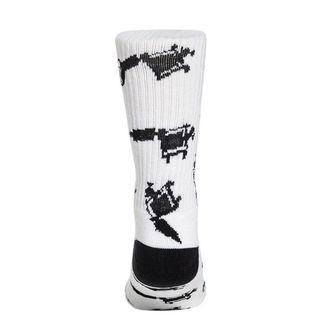 socks SULLEN - MACHINED - WHITE, SULLEN
