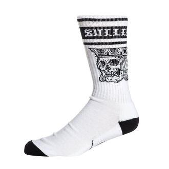High socks SULLEN - JACKED - WHITE / BLACK, SULLEN