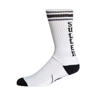 High socks SULLEN - SPIT FIRE - WHITE / BLACK, SULLEN