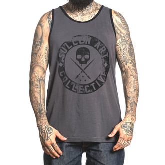 Men´s tank top SULLEN - BADGE OF HONOR - GREY - SCM1887_GY