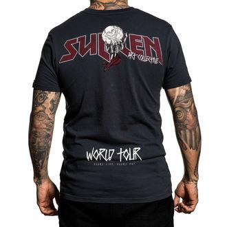 t-shirt hardcore men's - WORLD TOUR - SULLEN, SULLEN