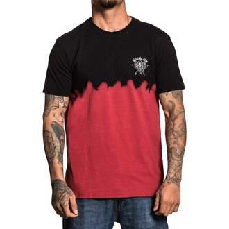 t-shirt hardcore men's - COBRA BLOOD DIP DYE - SULLEN, SULLEN