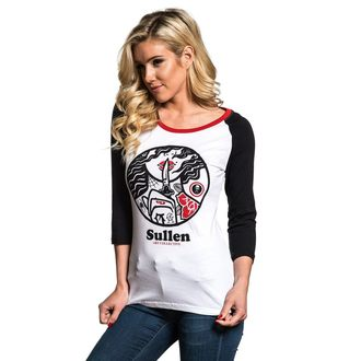 t-shirt hardcore women's - SECRETS RAGLAN - SULLEN, SULLEN
