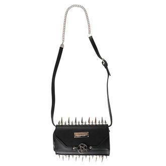Handbag (Purse) KILLSTAR - SHE DEVIL CLUTCH - BLACK, KILLSTAR