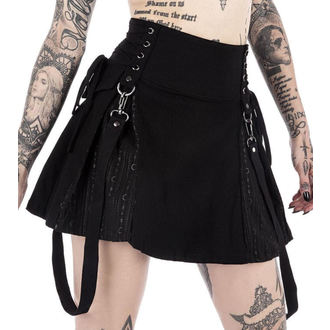 Skirt Women's KILLSTAR - Sinister Scouts - Black, KILLSTAR