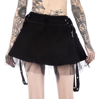 Skirt Women's KILLSTAR - Slay Her - Black, KILLSTAR