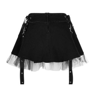 Skirt Women's KILLSTAR - Slay Her - Black - K-SKR-F-2637