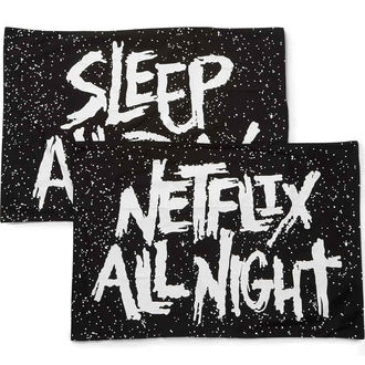 Pillowcases KILLSTAR - Sleep All Day - BLACK, KILLSTAR