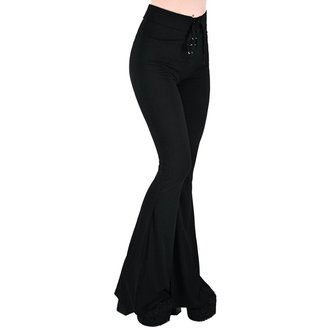 Women's pants KILLSTAR - Slo-Burn Bell - BLACK - KSRA000258
