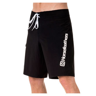 men's shorts (swimsuits) HORSEFEATHERS - GILLER - Black, HORSEFEATHERS