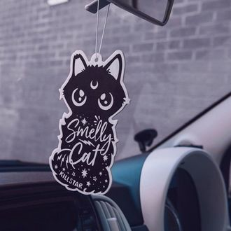 Car air freshener KILLSTAR - Smelly Cat - BLACK, KILLSTAR